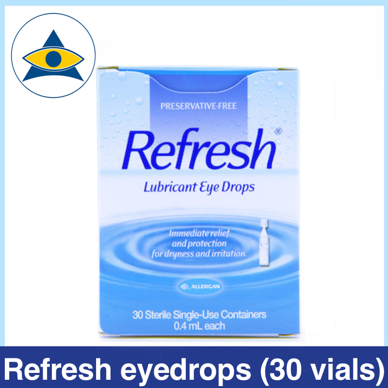Refresh eyedrops for dry eyes dryness Tampines Admiralty Optical