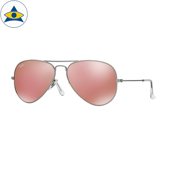 3025 aviator large 019-Z2 matte silver w brown mirror pink s5814 stars$278CHECK stock2