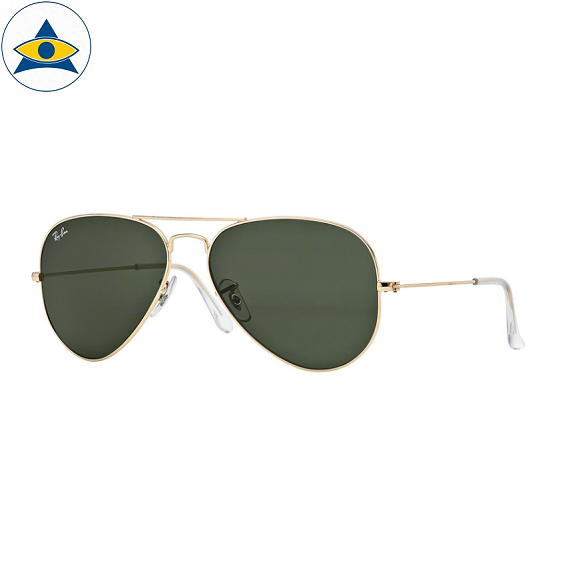 3025 aviator large L0205 gold w g15 s5814 stars$229 stock3