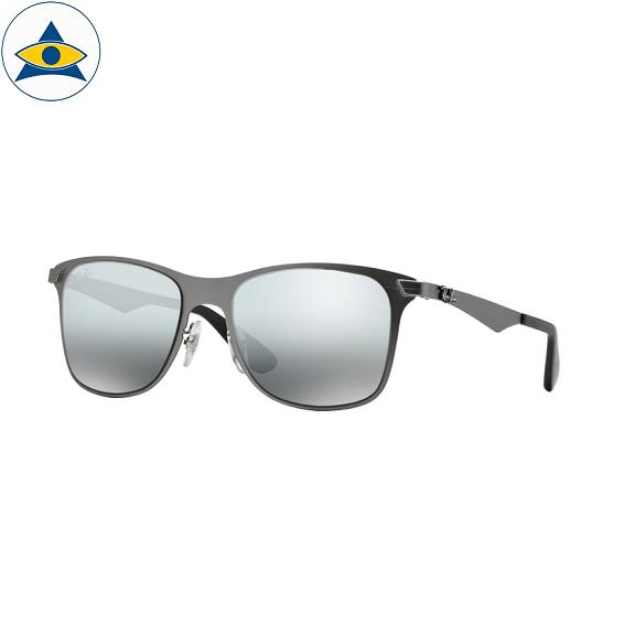 3521 029-88 mattegunmetal w grey silver mirror grad 5218 $310 stock4