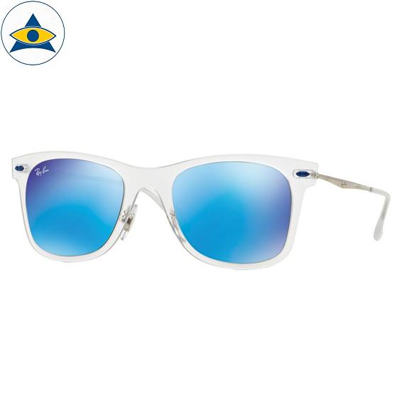 4210 646-55 matte transparent w green mirror blue 5022 stars$xx $418 lightray