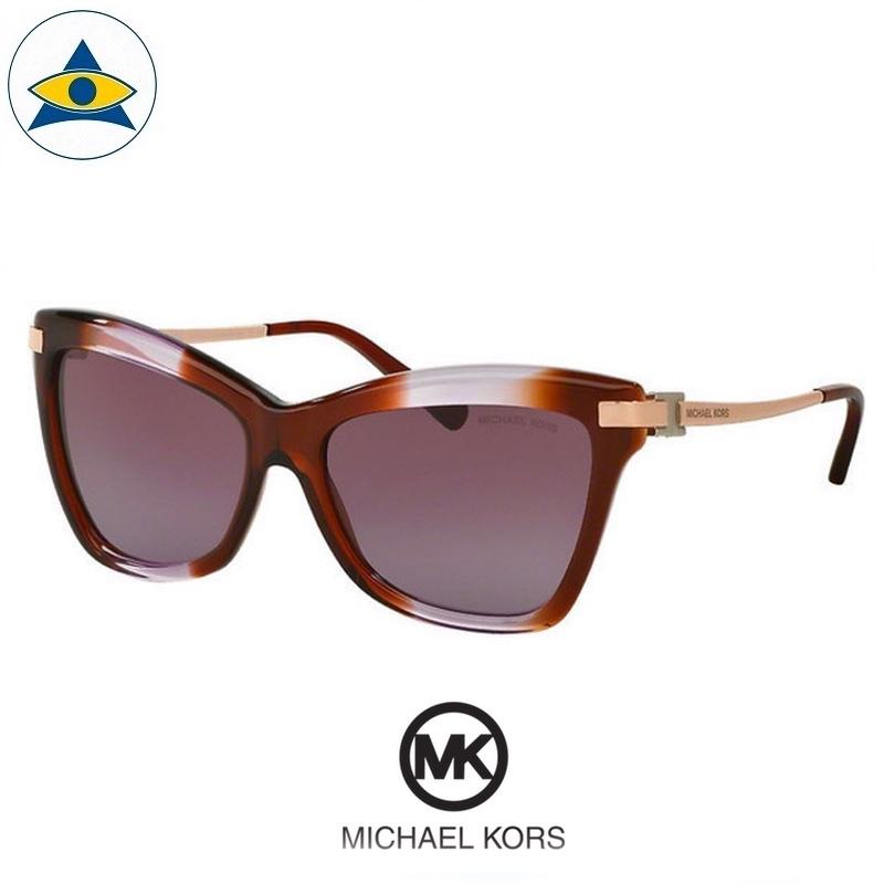 Michael kors sunglass 2027 AUDRINA III 31738H brown purple gradient with purple gradient s5616 358 2