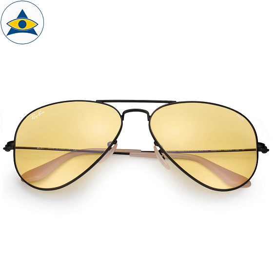 3025 aviator evolve black 9066:4A yellow photochromic s5814 $318 2