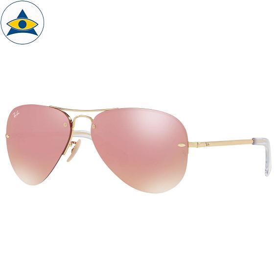 3449 001_E4 gold w pink mirror s5914 $298