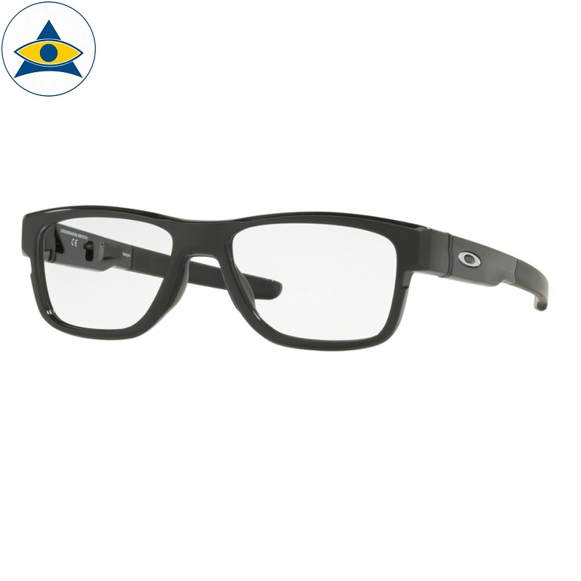 Oakley 8132 01 polished black Size 54 $219 6piece