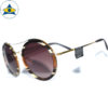JS-7705 BrownIvoryHavana-Gold w Brown2 S54-25 2 Tampines Optical Admiralty Optical