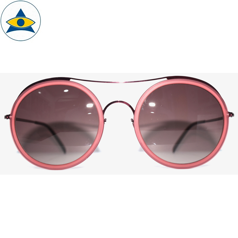 JS-7705 C3 Pink w Brown2 S54-25 1 Tampines Optical Admiralty Optical