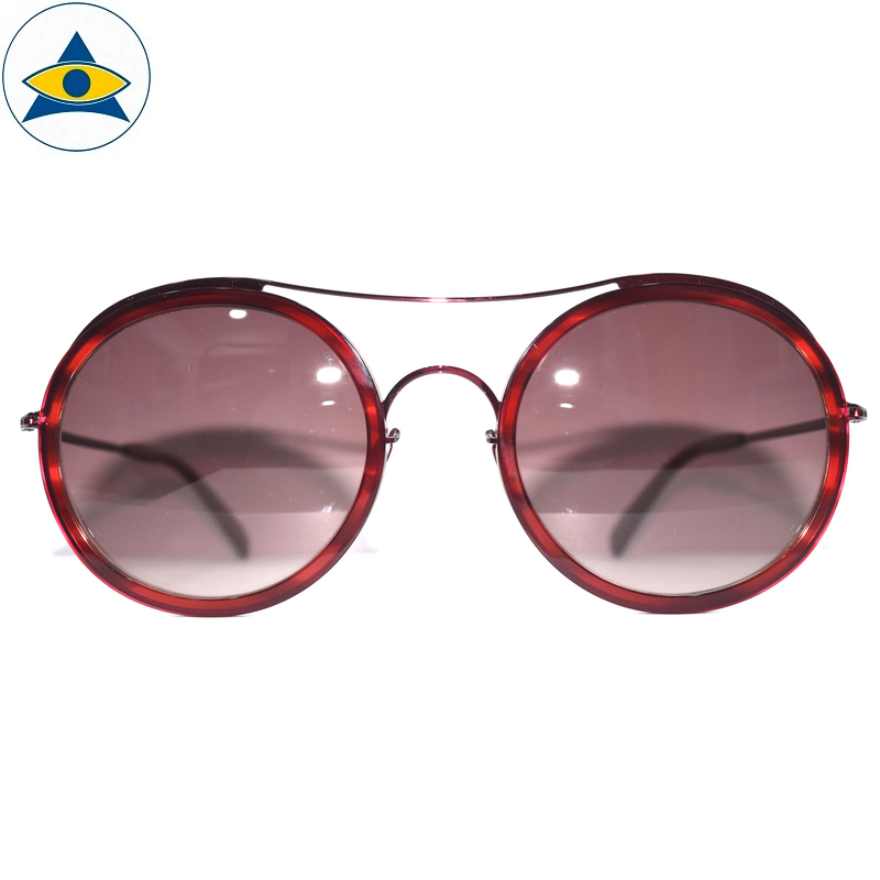 JS-7705 C3 Red w Brown2 S54-25 1 Tampines Optical Admiralty Optical