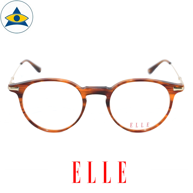 Elle EL 14397 OR Brown-Gold s48-20 Tampines Optical Admiralty Optical 1