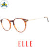 Elle EL 14397 OR Brown-Gold s48-20 Tampines Optical Admiralty Optical 2