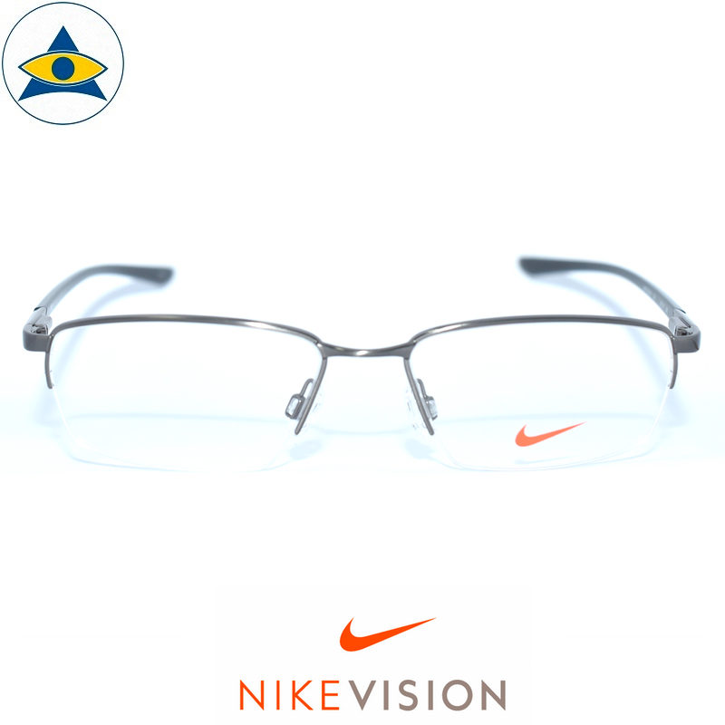 Nike 8171 060 silver-black s55-17 $228 Tampines Optical Admiralty Optical 1