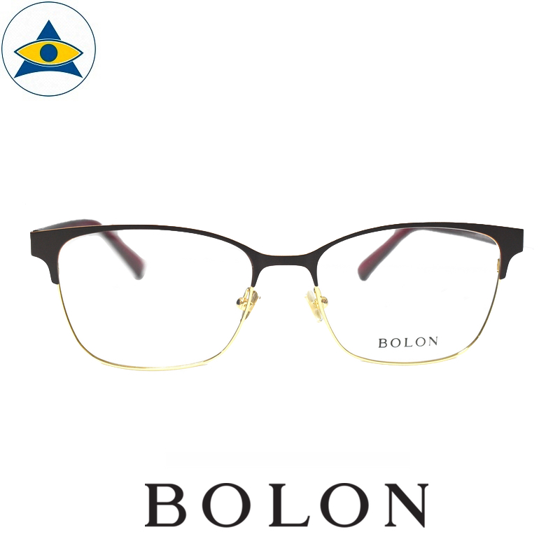 Bolon 7005 B30 Gold and Red s5316 $188 1 Tampines Optical Admiralty