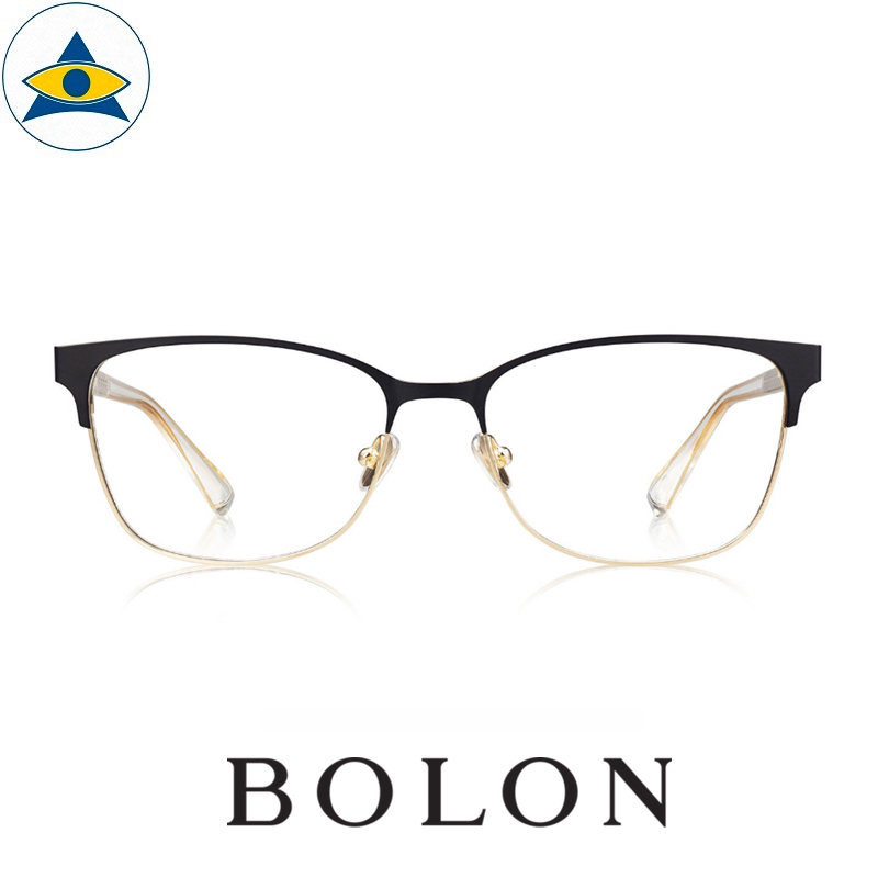 Bolon 7005 EVE B10 Gold and matte black s5316 $188 1 Tampines Optical Admiralty