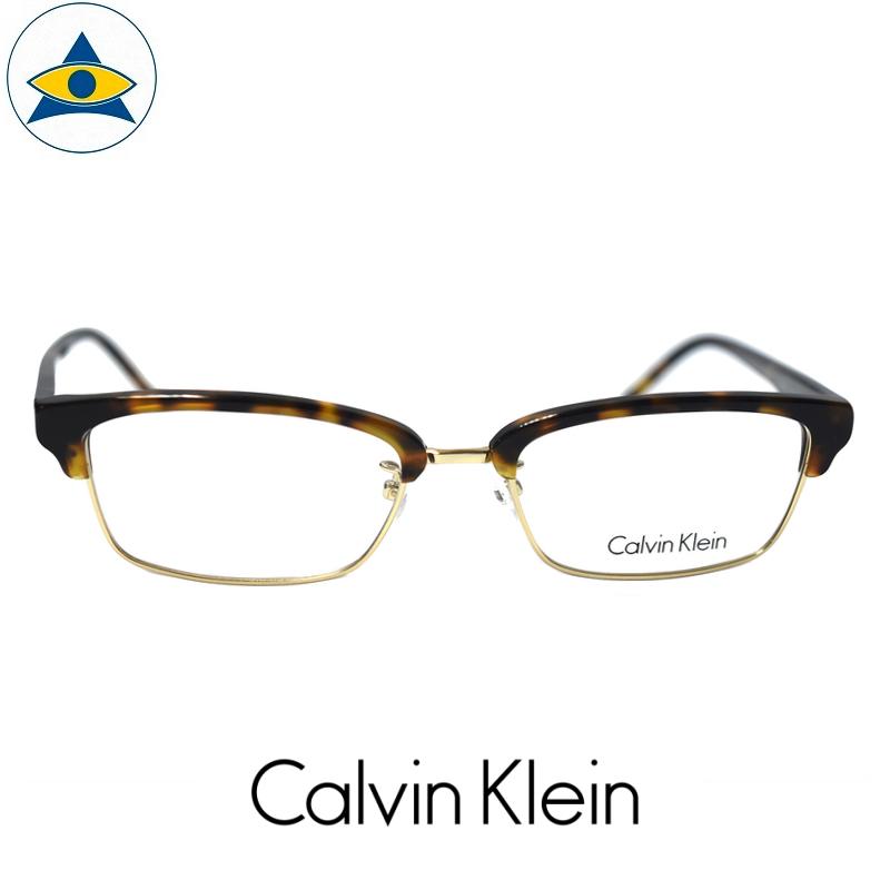 CALVIN KLEIN CK 5467A 234 Havana Gold s5318 $338 1 tampines admiralty optical