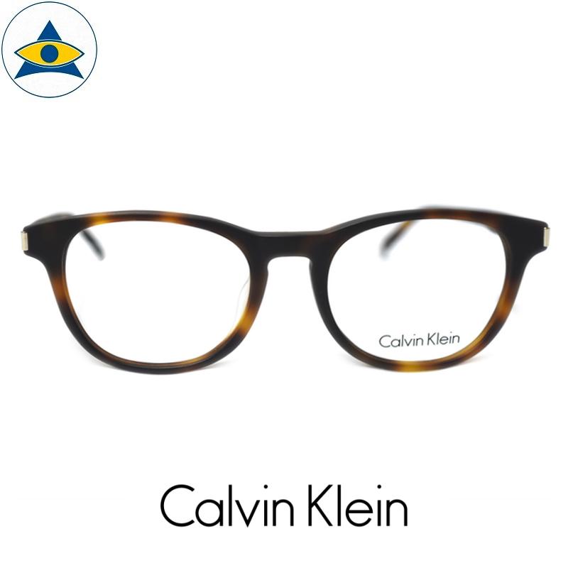 CALVIN KLEIN CK 5988A 224 HAVANA s5018 $338 1 tampines admiralty optical