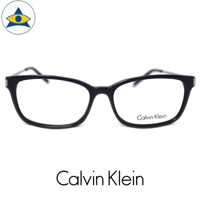 CALVIN KLEIN CK 6001a 414 BlackSilver s5415 $338 1 tampines admiralty optical