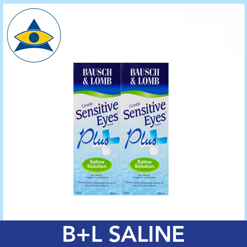 BAUSCH AND LOMB contact lens SALINE solution Tampines Optical Admiralty Optical