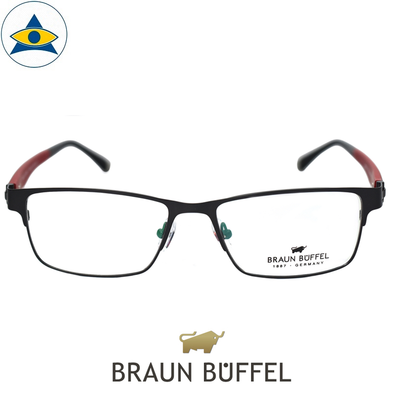 braun buffel 28101 c703 Black red s5516 $228 1 Tampines Optical Admiralty Optical