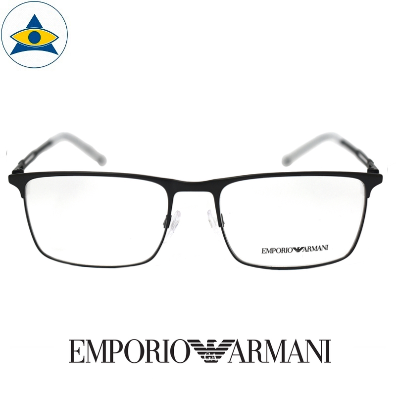 emporio armani 1083 3001 Black s55-18 $288 1 tampines optical admiralty optical