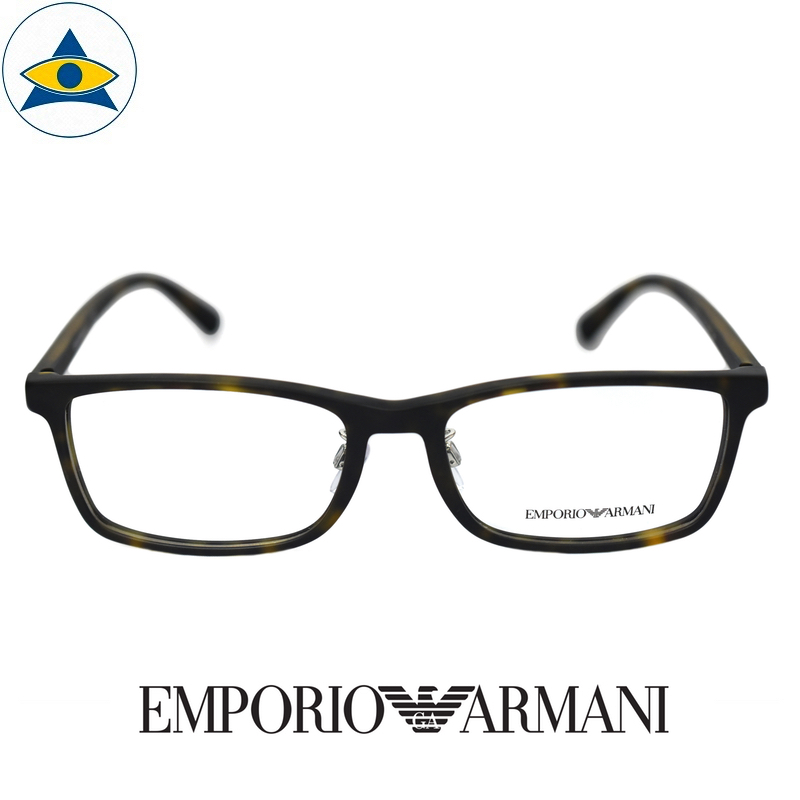 emporio armani 3145D 5089 Black s55-17 $248 1 tampines optical admiralty optical