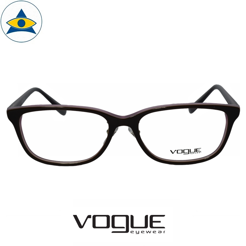 vogue 5248D 1914 Black Purple s54-16 $178 1 tampines optical admiralty optical