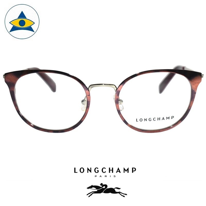 Long Champ 2101 C216 Brown Gold S4919 $258 1 eyewear optical spectacle glasses tampines admiralty optical