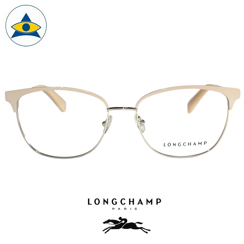 Long Champ 2103 C272 Cream Gold S5316 $258 1 eyewear optical spectacle glasses tampines admiralty optical