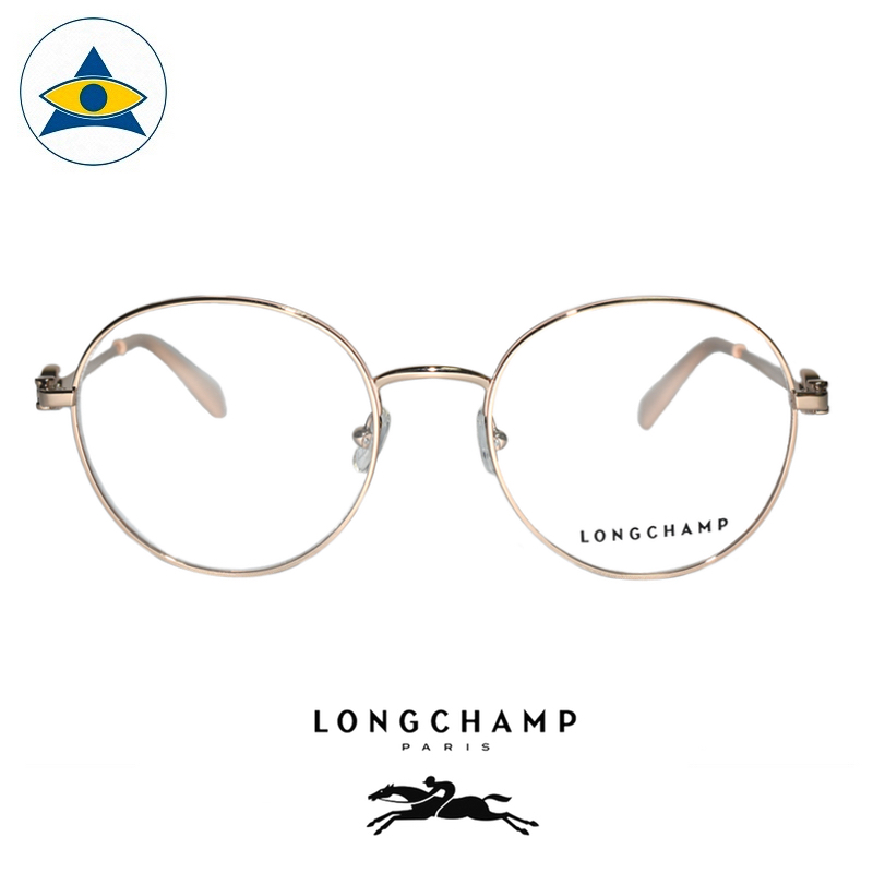 Long Champ 2109 C771 Pink Gold S5119 $258 1 eyewear optical spectacle glasses tampines admiralty optical
