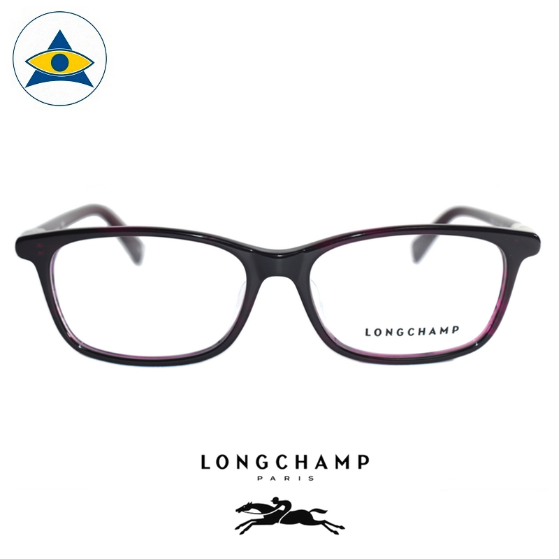 Long Champ 2162 C614 Purple S5315 $218 1 eyewear optical spectacle glasses tampines admiralty optical