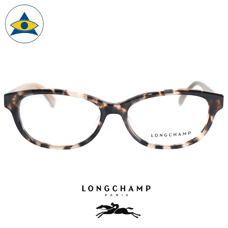 Long Champ 2609A C280 Light turtleshell beige S5315 $238 1 eyewear optical spectacle glasses tampines admiralty optical