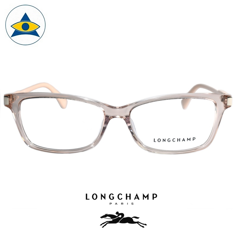 Long Champ 2632 C272 Peach S5314 $218 1 eyewear optical spectacle glasses tampines admiralty optical