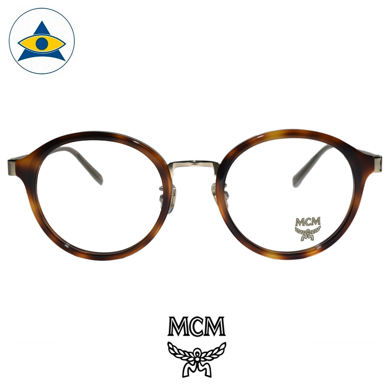 MCM 2115 214 Tortoiseshell Gold s5021 $328 1 tampines admiralty optical