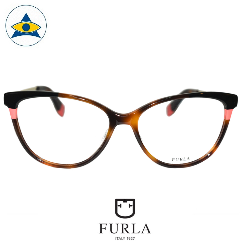 Furla Frida VFU134 0752 Turtleshell-Pink $258 1 eyewear optical spectacle glasses tampines admiralty optical