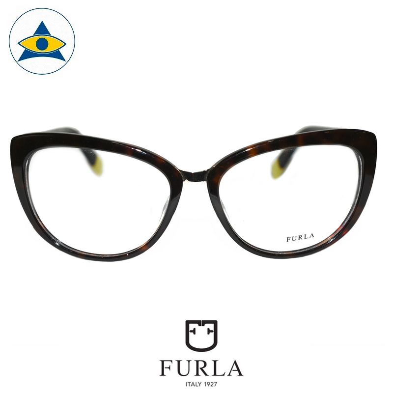 Furla Frida VU6806S 0722 Turtleshell $268 1 eyewear optical spectacle glasses tampines admiralty optical