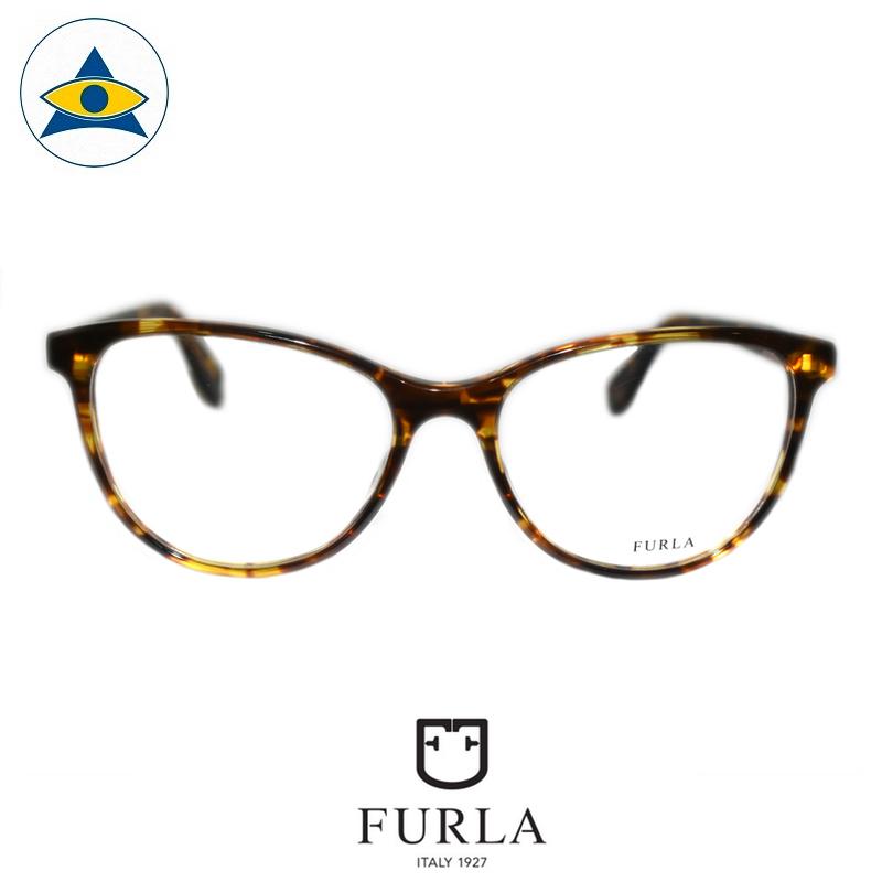 Furla VFU179 0743 Light Turtleshell $238 1 eyewear optical spectacle glasses tampines admiralty optical