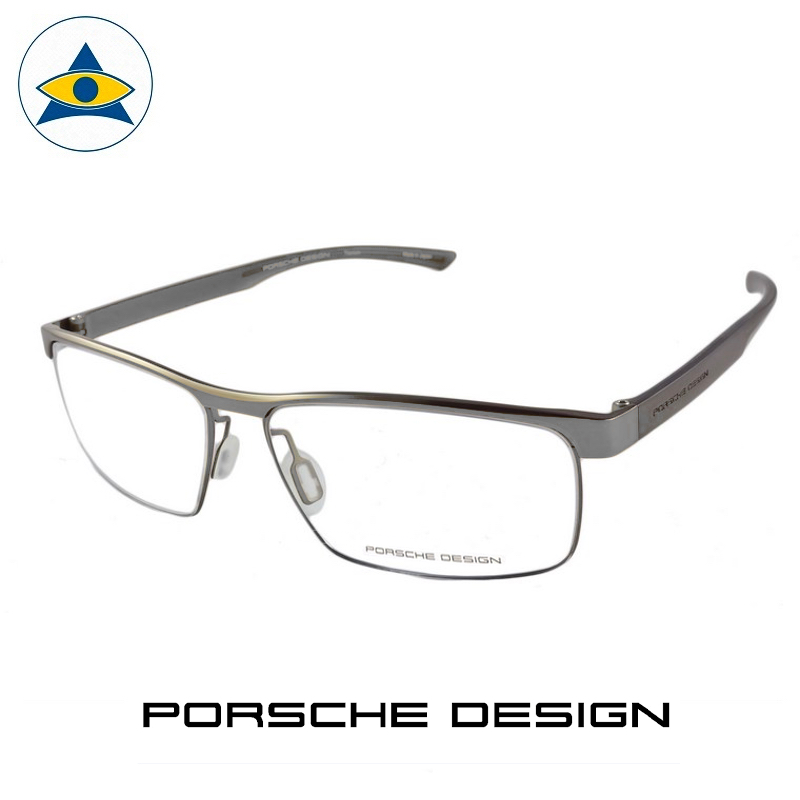 Porsche P 8288 C Black-Grey s58-15 $599 1 eyewear frame tampines admiralty optical