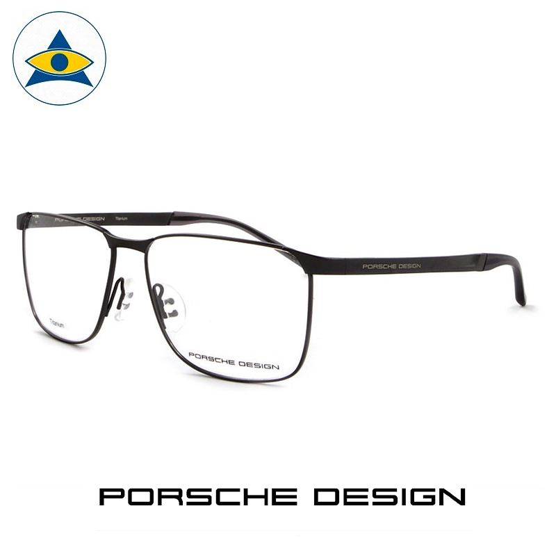 Porsche P 8332 A Black s57-15 $599 2 eyewear frame tampines admiralty optical