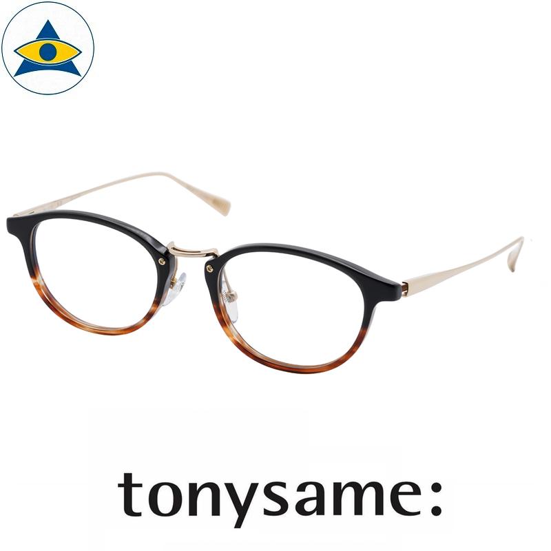 Tonysame eyewear TS 10735 Black Brown Sasa s4920 $438 2 tampines optical admiralty optical