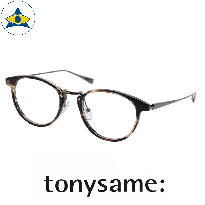 Tonysame eyewear TS 10736 Black Sasa – Gun s4920 $438 2 tampines optical admiralty optical
