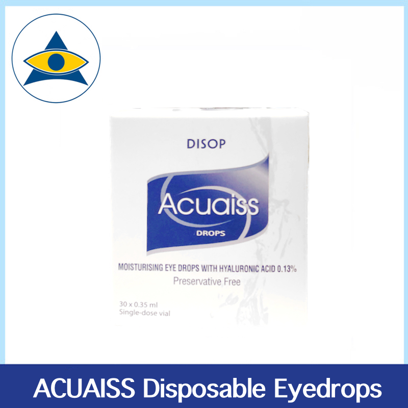 Acuaiss eyedrops dose disposable Tampines Optical Admiralty Optical