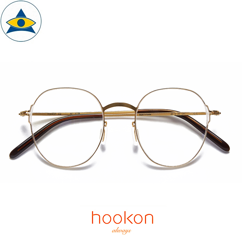 Hookon AE-V08 C1 Gold S4920 1 Tampines Optical Admiralty Optical 1