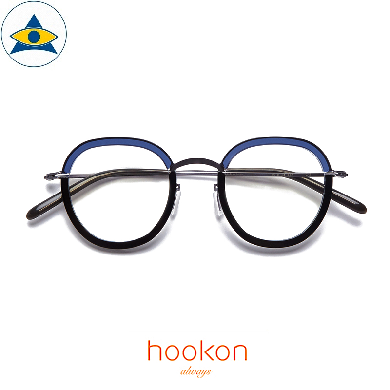 Hookon AT-H19 Blue-Black S4524 $338 1 Tampines Optical Admiralty Optical