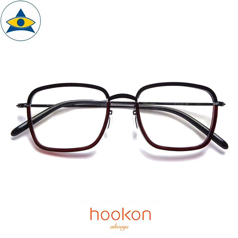 Hookon AT-H21 Black-Brown S5120 $338 1 Tampines Optical Admiralty Optical