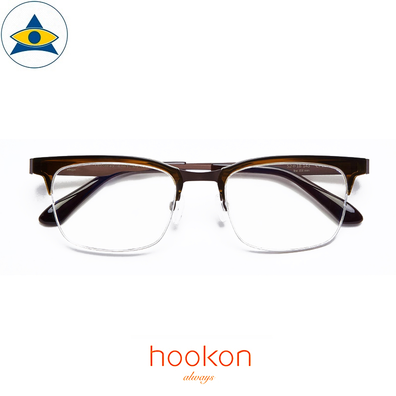 Hookon Canyon CY-203 Brown S5417 $338 1 Tampines Optical Admiralty Optical