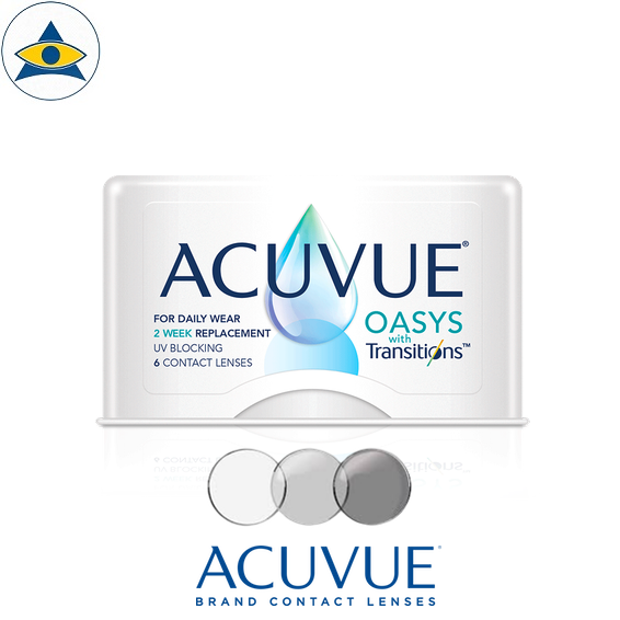 acuvue Oasys Transitions II photochromic bi-weekly contact lenses tampines admiralty optical
