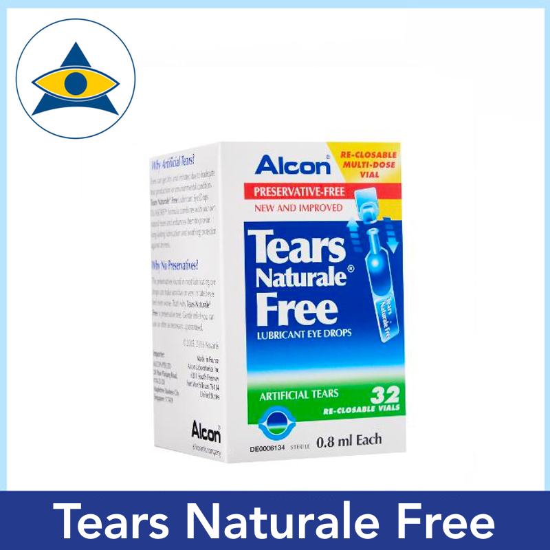 tears naturale free contact lens eyedrop solution Tampines Optical Admiralty Optical