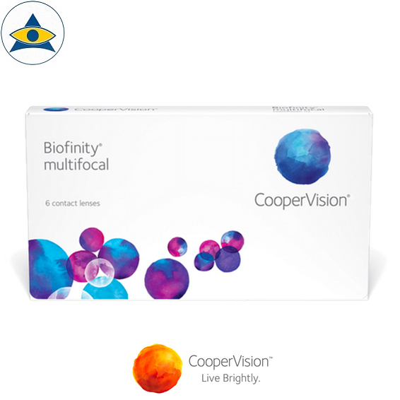 Cooper Vision Biofinity Multifocal for presbyopia Monthly clear contact lenses tampines admiralty optical