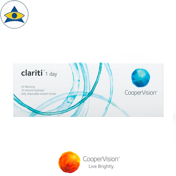 Cooper Vision Clariti 1 day dailies clear contact lenses tampines admiralty optical