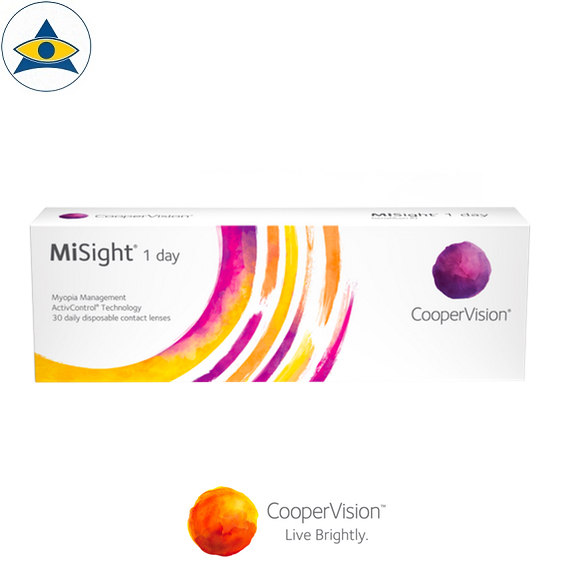Cooper Vision MiSight Dailies Myopia Control contact lenses tampines admiralty optical