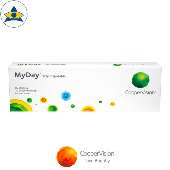 Cooper Vision MyDay Dailies contact lenses tampines admiralty optical